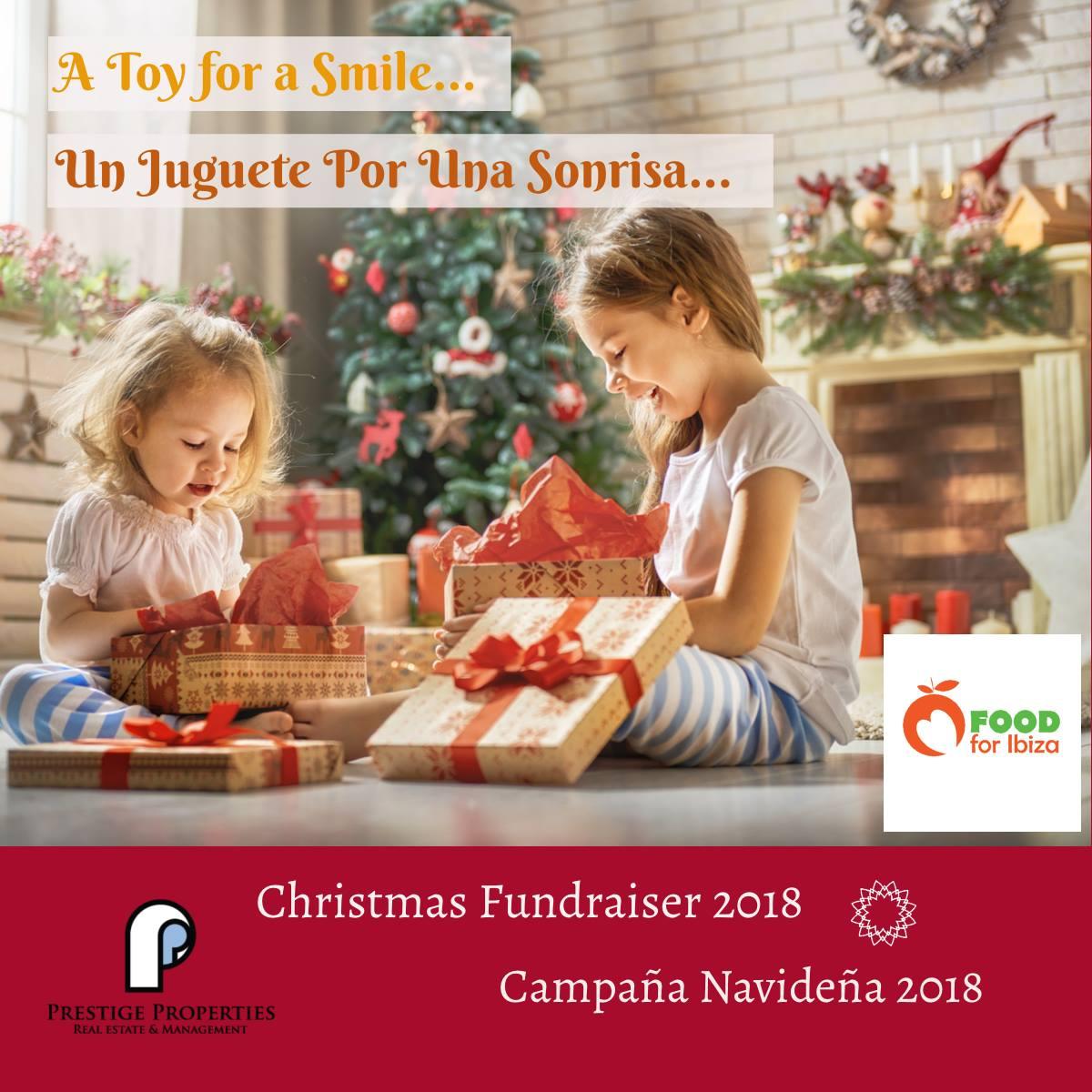 Un giocattolo, un sorriso – Campagna di beneficenza di Natale